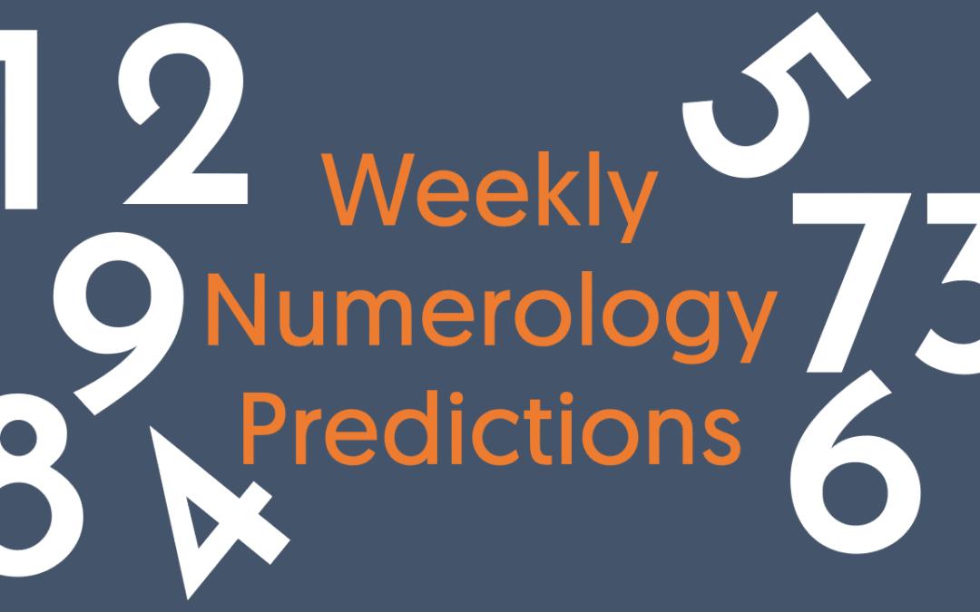 Weekly Predictions (October 23 To October 29, 2020)